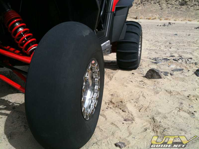 Polaris RZR XP Paddle Tires from Fullerton Sand Sports
