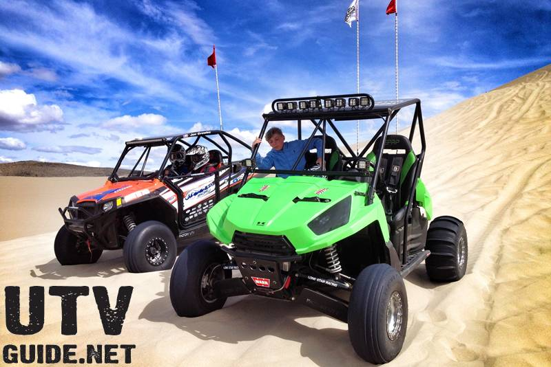 Sand Mountain, NV - Polaris RZR XP and Kawasaki Teryx