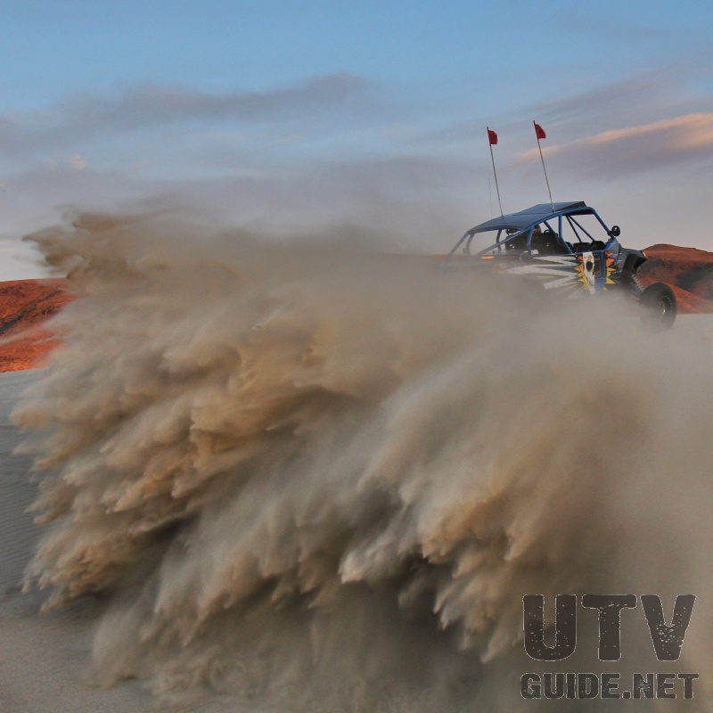 Turbo RZR Throwing Roost