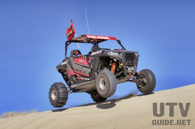 Polaris RZR S 900 at Sand Mountain