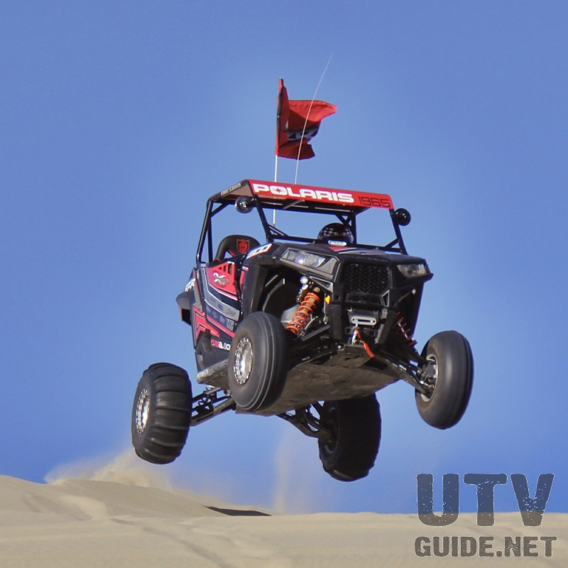 RZR S 900 at Sand Mountain