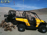 Can-Am Commander and John Deere Gator 825i