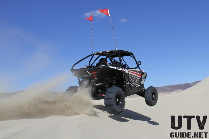 Polaris RZR XP 1000 at Sand Mountain