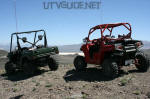 Kawasaki Teryx vs. Polaris RZR near Sand Mountain