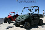 Polaris RZR vs. Kawasaki Teryx at Sand Mountain