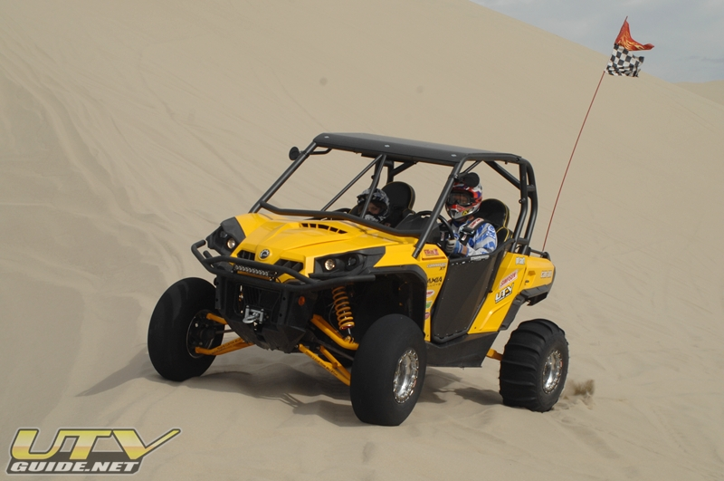 Can-Am Commander with TCB Long Travel and Elka Shocks