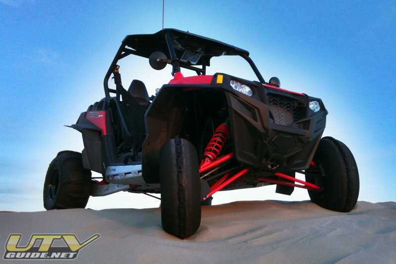 Polaris RZR XP 900 at Sand Mountain