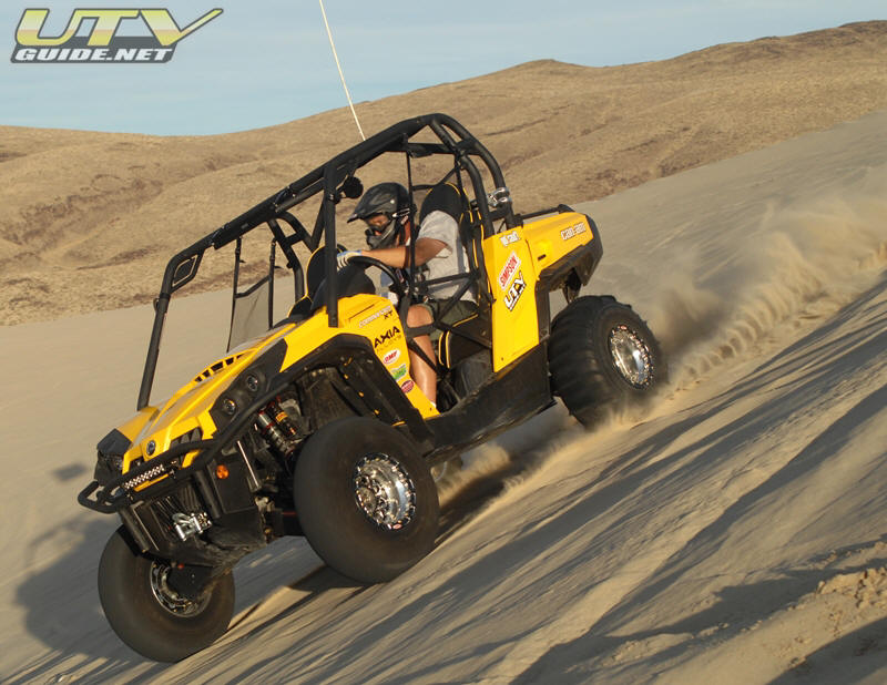Can-Am Commander 1000 XT at Sand Mountain, Nevada