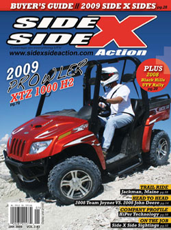 Side x Side Action Magazine - Issue 19 - Arctic Cat Prowler 1000