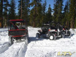 UTV Snow Day in the Sierras