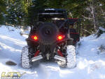 Polaris RZR S in the snow