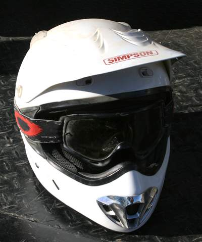 Simpson Horizon Full Face Off Road Motorcycle Helmet