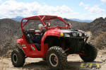 Polaris RZR in the Pine Nut Mountains