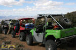 Polaris RZR S, Polaris RZR and Kawasaki Teryx in the Toiyabe National Forest
