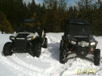 2010 Polaris RZR S and 2009 RZR S