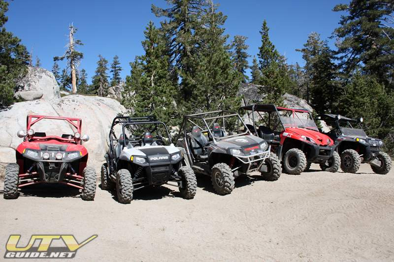 UTVs on the Strawberry Pass Trail
