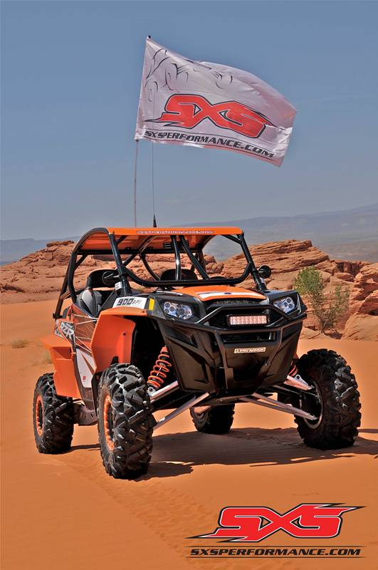 2012 RANGER RZR XP 900-Black/Orange Madness