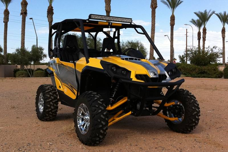 TCB's Long Travel Can-Am Commander 1000