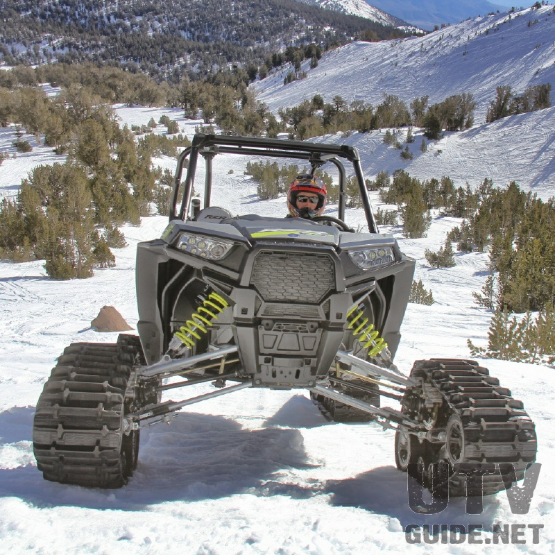 Polaris RZR XP 1000 with Camoplast Tracks