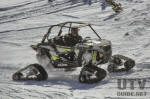 RZR XP 1000 with Camoplast T4S Tracks