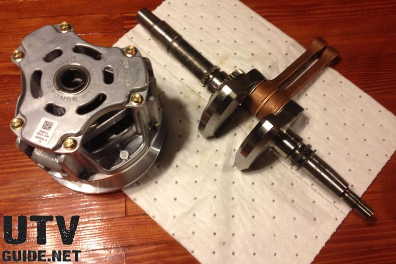 Team Industries Clutch and New Crankshaft