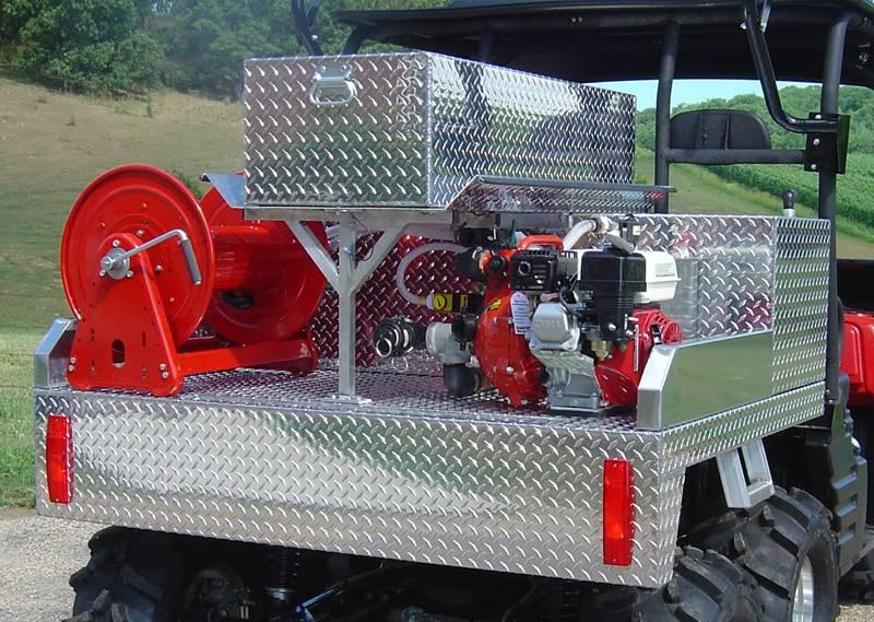 Terrator Pumpster on Kawasaki Mule Drive Shaft Removal