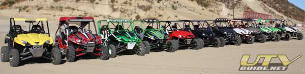 Kawasaki Teryx - Side x Side Action Battle of the Builders