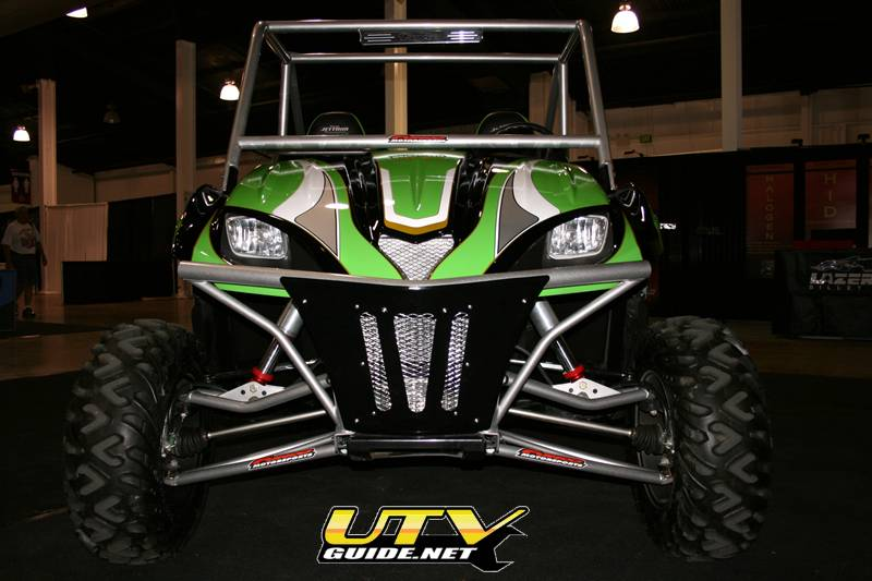 Long Travel Kawasaki Teryx - Funco Motorsports & Sway-A-Way Shocks