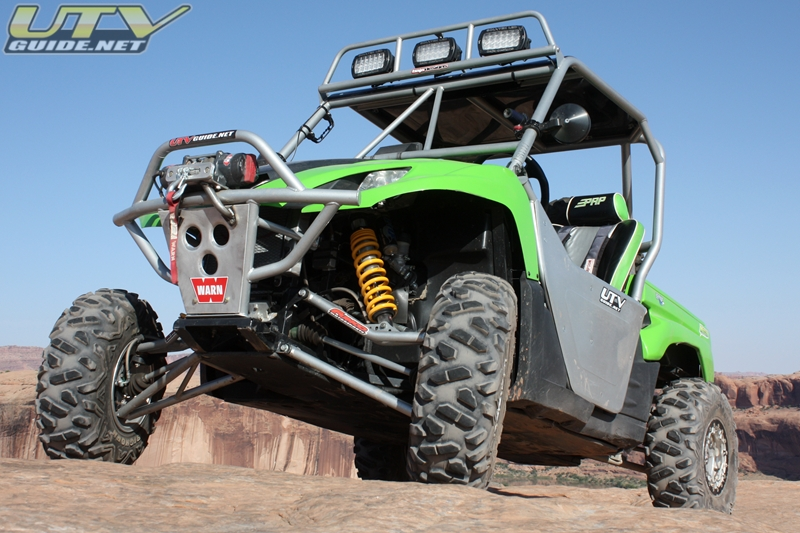 Kawasaki Teryx with Long Travel Suspension Upgrades