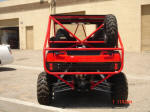 Kawasaki Teryx Two Seat Roll Cage, Bumper, Spare Tire Carrier