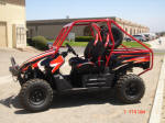 Kawasaki Teryx Two Seat Roll Cage, Bumper with Winch