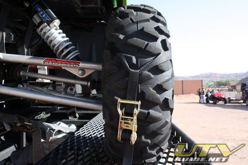UTV Tire Bonnet