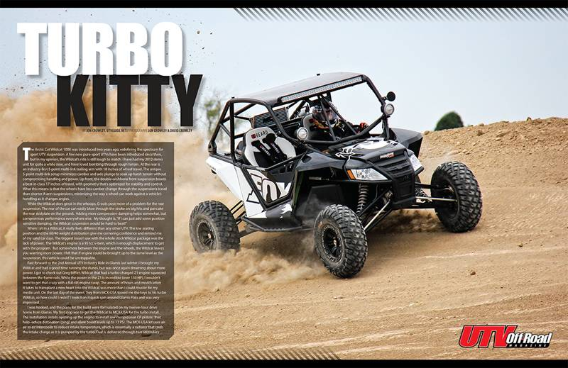 Turbo Kitty - UTV Off-Road Magazine