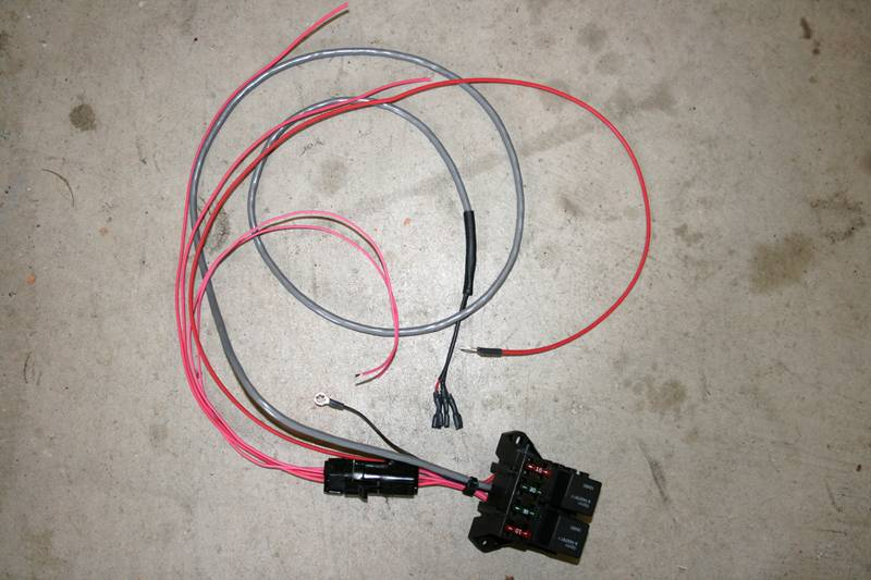 12v Relay Wiring Harness