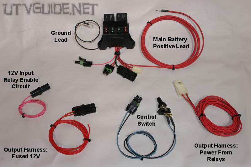 UTV 12V RZR 022 12v accessory guide for utvs utv guide Wiring Harness Diagram at edmiracle.co