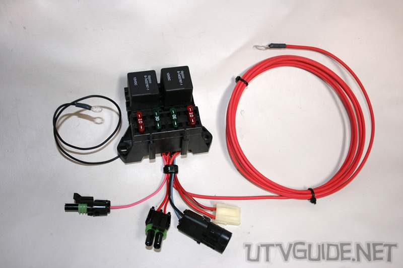 UTV 12V RZR 024 12v accessory guide for utvs utv guide Wiring Harness Diagram at gsmportal.co