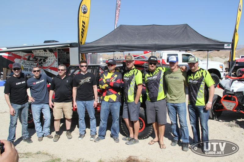 2016 Can-Am UTV Race Team