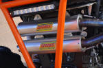 Sparks Racing – X-6 Dual Exhaust