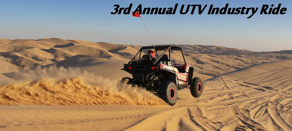 3rd Annual UTV Industry Ride