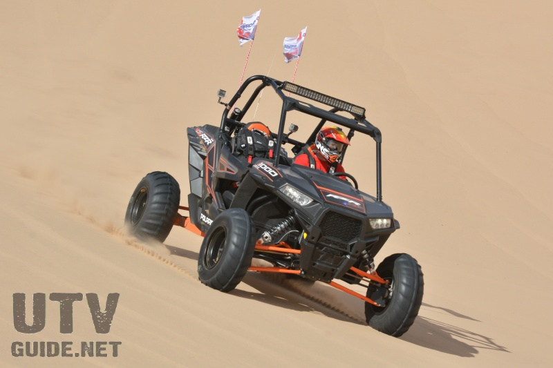Polaris RZR XP 1000 with Delta FX Tires