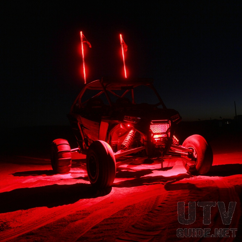 Polaris RZR XP 1000 with accent lights