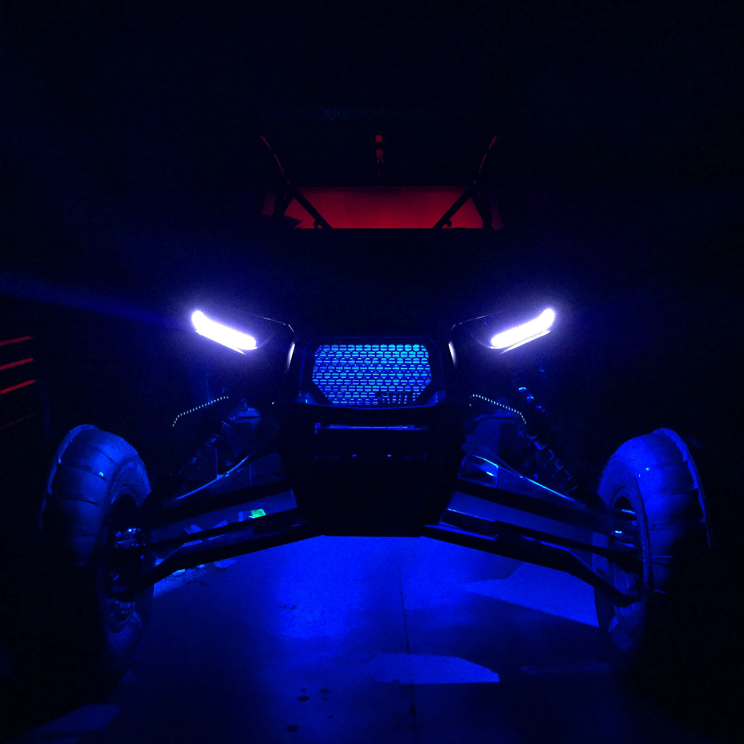 Blue LED Accent Lights
