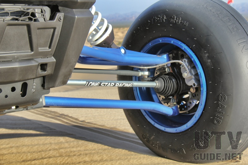 LoneStar Racing XP1000 Long Travel Suspension