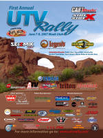 First Annual UTV Rally - Moab, UT