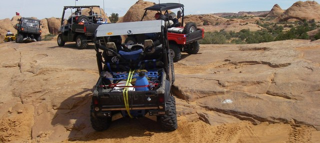 2nd Annual UTV Rally Moab - Yamaha Rhinos & Polaris Ranger