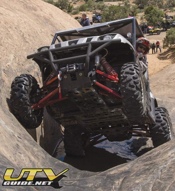 Rancho testing out their new Rhino suspension on Hell's Revenge - UTV Rally 2008