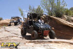Yamaha Rhino in Moab with Rancho  Long Travel Suspension