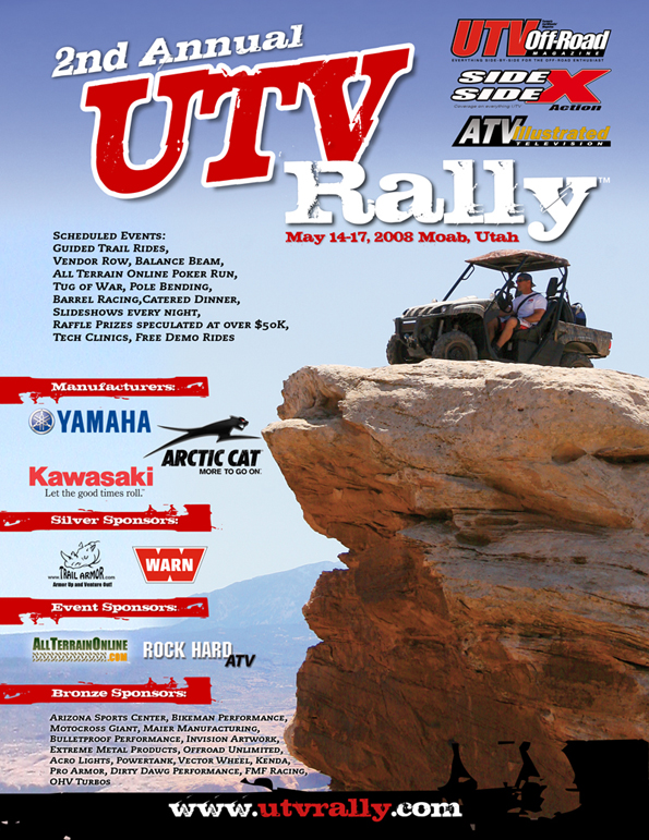 2008 UTV Rally in Moab Utah