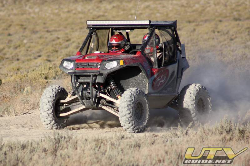 1919 Jagged X Polaris RZR at the 2010 Vegas to Reno Race