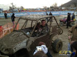 Magnum Offroad's own Luke Rogers in a Yamaha Rhino